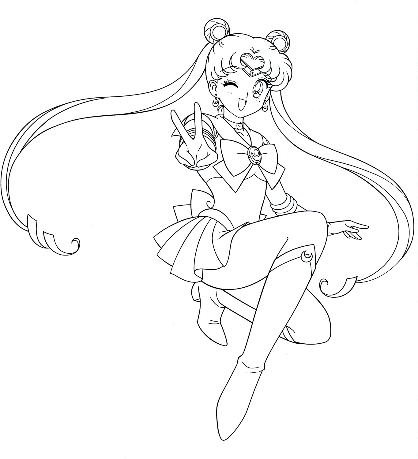 Sailorcolora on Colouring Pages